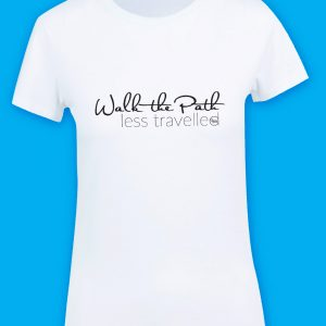 Wear Your Values Tshirt - Walk the Path